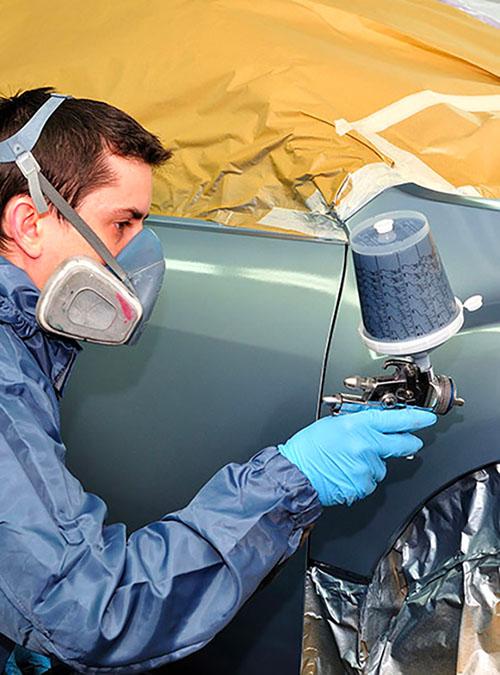 Roncq Automobiles Mise en peinture